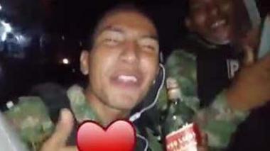 Captura de pantalla del video publicado en redes sociales.