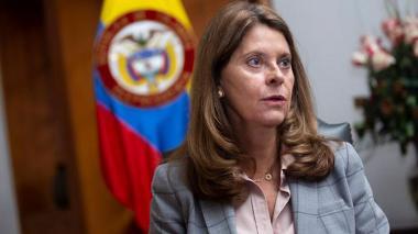 Marta Lucía Ramírez, vicepresidenta de Colombia.