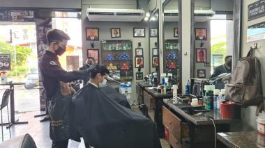 En video   La nueva normalidad en una peluquería de Barranquilla
