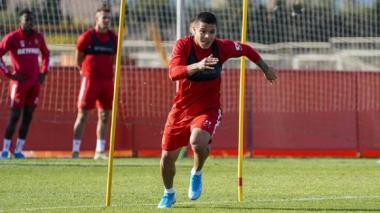 """""""Sueño con marcarle un gol al Barcelona"""": 'Cucho' Hernández"""