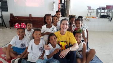 Cuento, lectura y yoga en la agenda cultural de Clarita Spitz