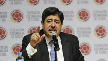 Luis Bedoya, expresidente de la Federación Colombiana de Fútbol (FCF).