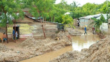 Fuerte lluvia causa daños en varios municipios de la Costa