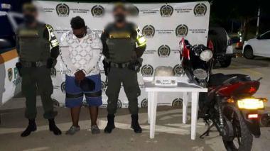 Capturado en Córdoba con droga en el tanque de la moto