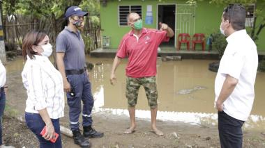 Realizan censo en cinco municipios afectados por fuertes vientos