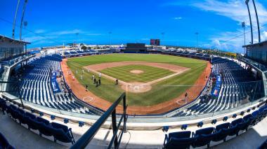 Panorámica del estadio Édgar Rentería, escenario que sería sede de la Liga Profesional en Colombia.