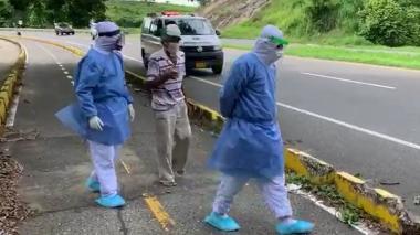 Paciente con coronavirus se fuga de una clínica en Sincelejo