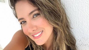 Exseñorita Colombia Daniella Álvarez ya salió de cirugía