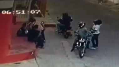 En video | Ladrones no dan tregua, ni en cuarentena