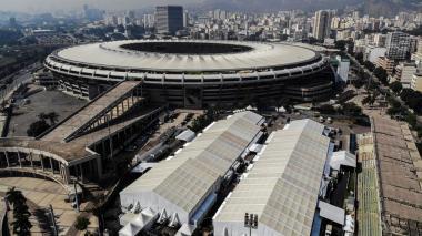 Estadio Maracaná de Río de Janeiro.