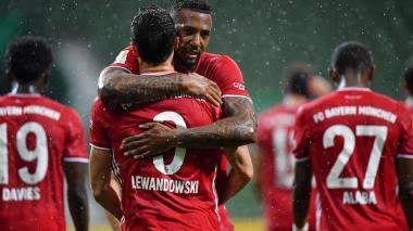 El Bayern se corona campeón alemán por octava vez consecutiva