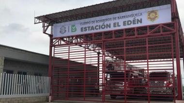 Cierran estación de bomberos El Edén, tras un caso de COVID-19