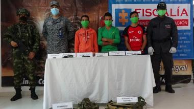 Detenidos presuntos bacrim cuando merodeaban armados por Tierralta