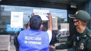 Cierran sucursal de banco en Soledad por incumplir protocolo de bioseguridad
