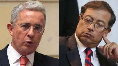 Uribe y Petro.