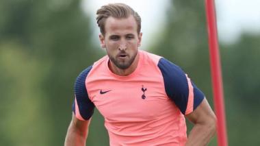 Harry Kane, delantero inglés del Tottenham.