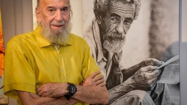 Enrique García, fotógrafo barranquillero.