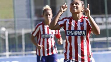 Leicy Santos seguirá en el Atlético de Madrid femenino la próxima temporada