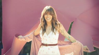 La cantante creó su reciente álbum desde el confinamiento.