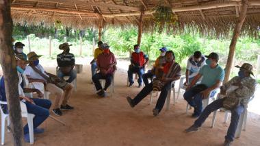 Indígenas zenúes del sur de Sucre reclaman sus derechos
