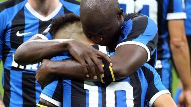Lukaku y Lautaro acercan al Inter a la cumbre en el 'Calcio'
