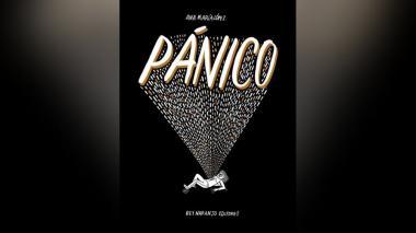Cubierta de 'Pánico', publicada en 2019 por Rey Naranjo Editores.