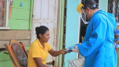 Puerto Colombia busca casos de COVID-19