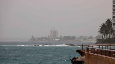 Una nube de polvo del Sahara afecta a países del Caribe