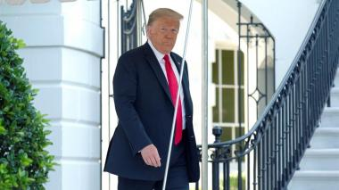 """Trump alega que su muro con México """"frenó la COVID"""" en EEUU"""