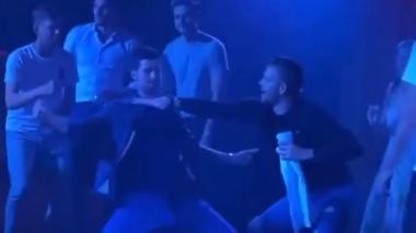 Novak Djokovic bailando en una de las fiestas en las que participó durante el torneo.