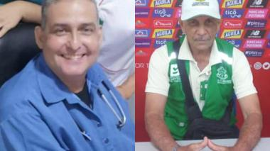 Eduardo Prieto y Carlos Stevenson Siciliano, fallecidos por COVID-19.