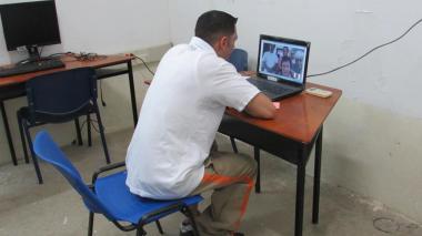 Regional Norte del Inpec implementa visitas y audiencias virtuales