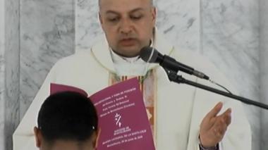 Nuevo obispo de Montelíbano, monseñor Farly Yovany Gil Betancur.