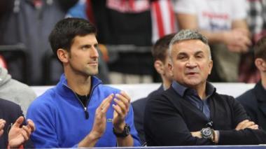 El papá de Djokovic acusa a Dimitrov de brote de COVID-19