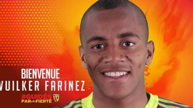 Así fue presentado el arquero Wuilker Faríñez en el club francés.