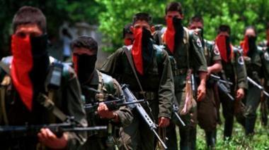 Guerrilla del Eln. Imagen de referencia.