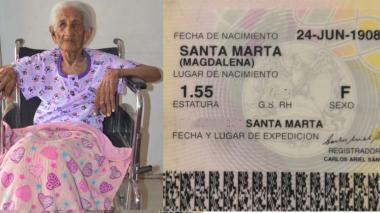 Testigo de las pandemias de los siglos XX y XXI: Juana Aritama de 112 años