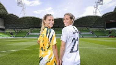 El fútbol femenino es bastante popular en Australia y Nueva Zelanda.