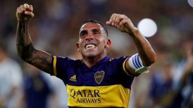 Carlos Tévez, un histórico de Boca Juniors.