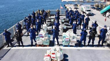 EE.UU. decomisa cocaína en operaciones conjuntas con Colombia y Honduras