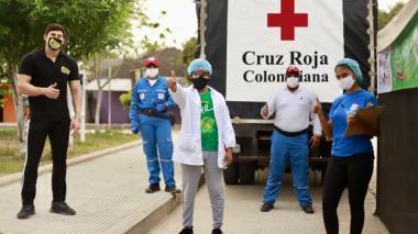 Cruz Roja apoya en la logística a festivales del Atlántico