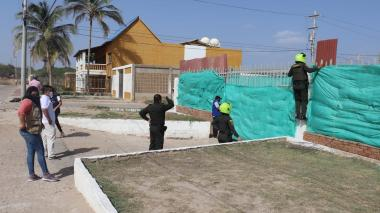 Suspenden obra en Riohacha por no cumplir con protocolos de bioseguridad