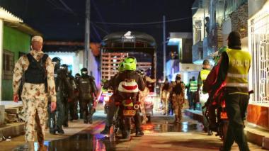 Toque de queda, ley seca y 'pico y cédula' en Soledad durante puente festivo