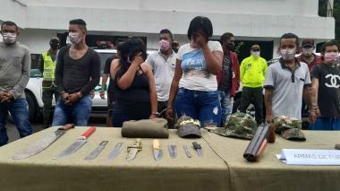 Desarticulan banda dedicada a hurto y tráfico de drogas en Cesar