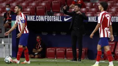 Simeone impone otro récord en el Atlético