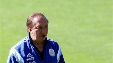 Carlos Salvador Bilardo, ex entrenador de la selección de Argentina.
