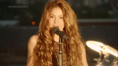 Shakira en Global Goal: Unite for Our Future.