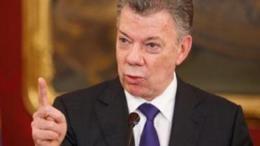 """Santos afirma que Farc """"no volverá al monte"""" y aboga por cercanía con Cuba"""