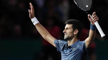 """""""Los barcos no se hunden por el agua que los rodea"""", Djokovic a sus críticos"""