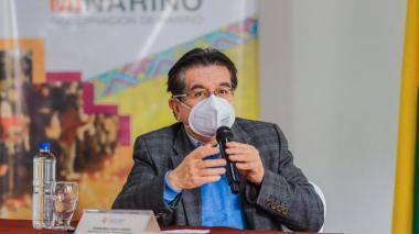 Fernando Ruíz, ministro de Salud.